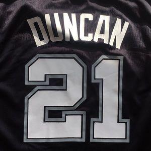 Reebok Shirts - Tim Duncan Jersey 64ded68e0